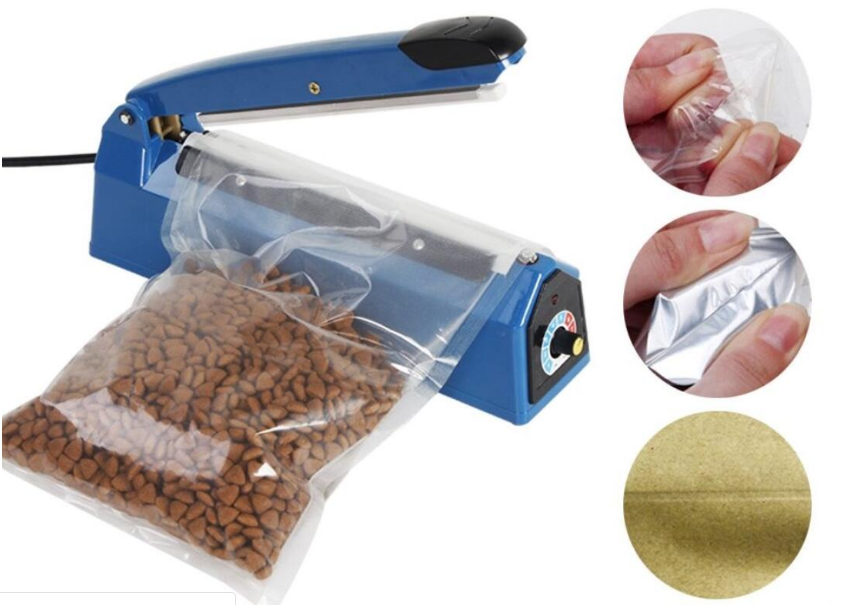 <strong>Manual Impulse Heat Sealer Sealing Poly Plastic Bag PFS-300</strong>