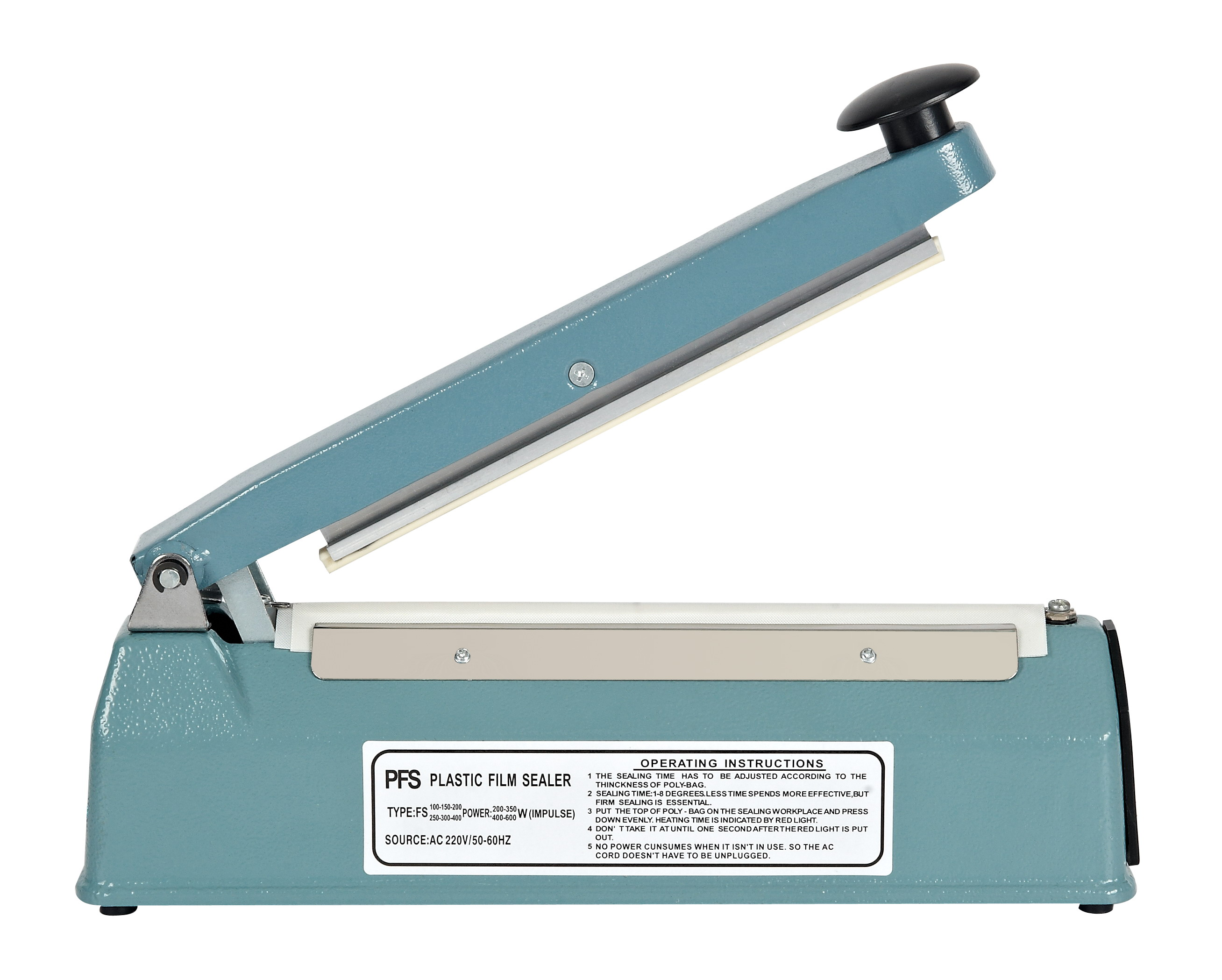 <strong>Manual Hand Impulse Heat Sealer Sealing Machinery FS-200</strong>