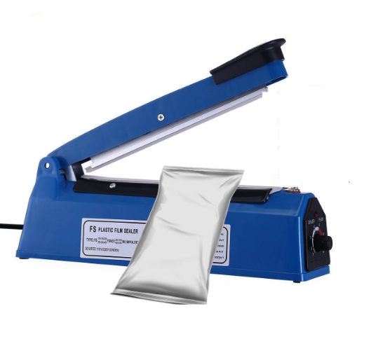 <strong>Plastic Hand Impulse Sealer Packing Film Bag Machine PFS-250</strong>
