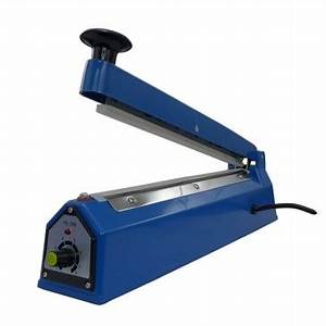 <b>Manual Impulse Sealer Hand Poly Bag Sealing Machine PFS-200</b>