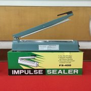Steel Shell Impulse Heat Sealer For Plastic PP PE Bag FS-400