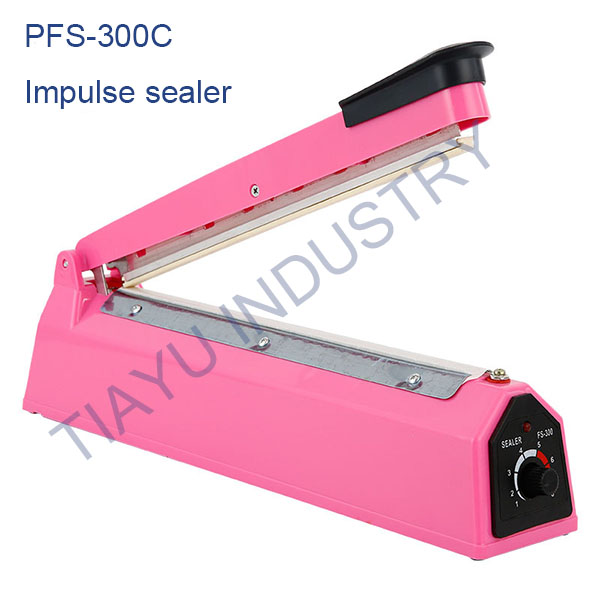 <strong>Manual Impulse Heat Poly Tubing Plastic Bag Sealer PFS-300</strong>
