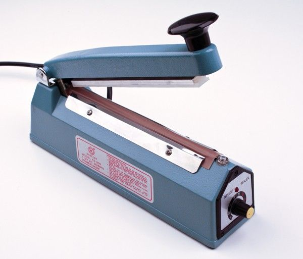 10 cm wide Iron Manual Plastic Film Impulse Sealer FS-100