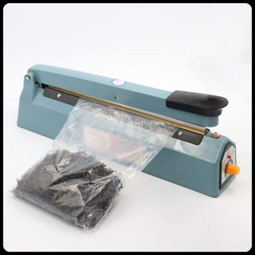 Iron Hand Impulse Sealer With Side Cutter 150mm width FS-150