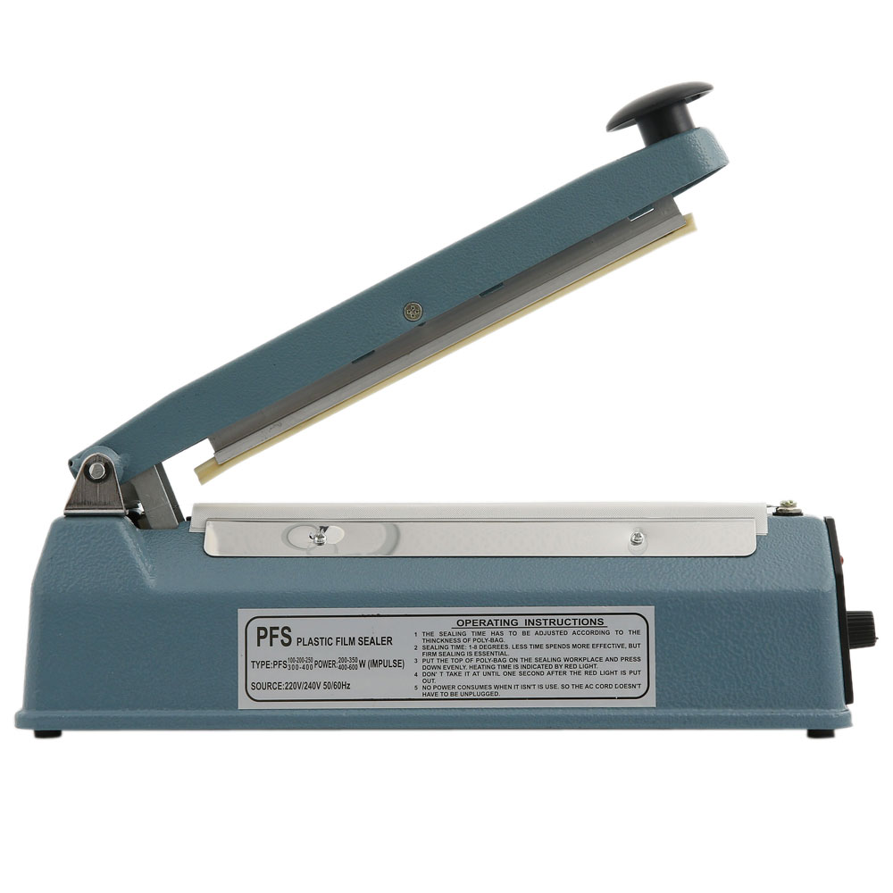 15 cm Wide Iron Case hand Impulse Sealer FS-150