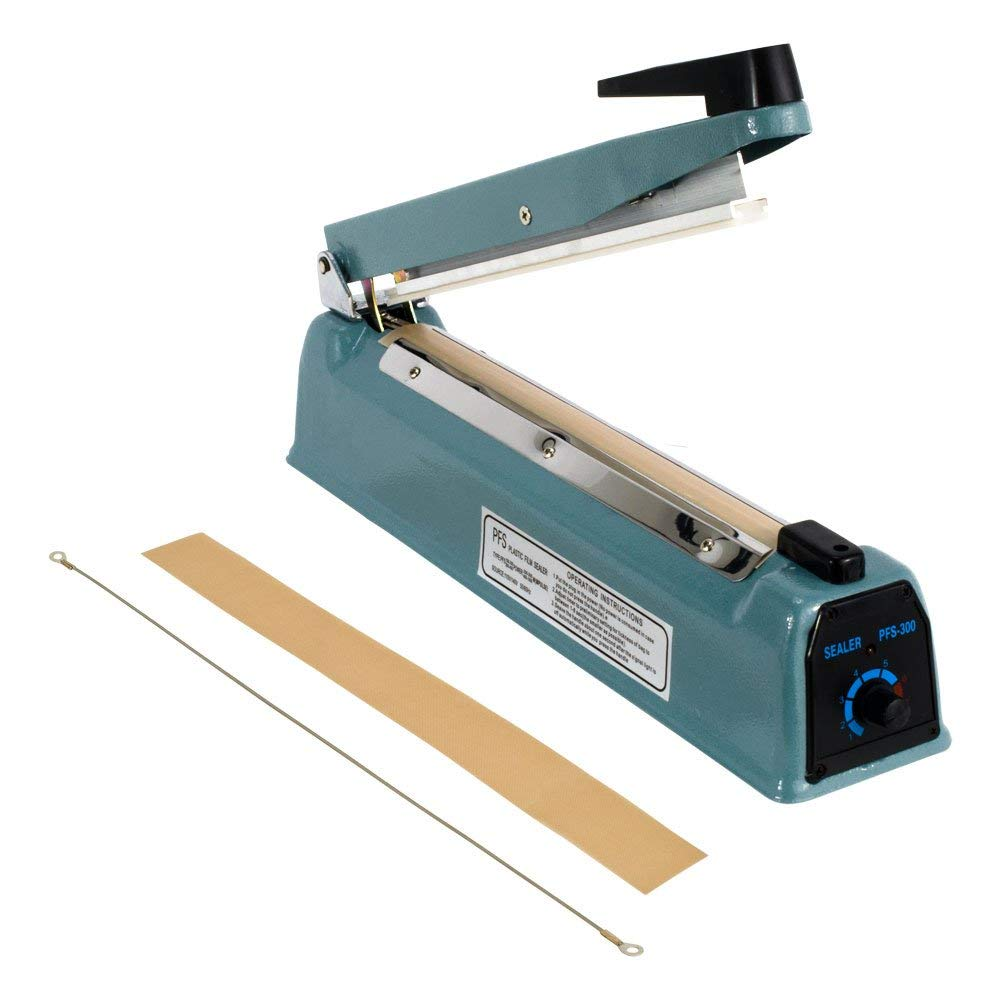 "4""Manual hand impulse heat sealer FS-100"