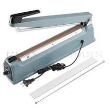15 cm Wide Iron Case impulse Sealer with Seal Ring FS-150