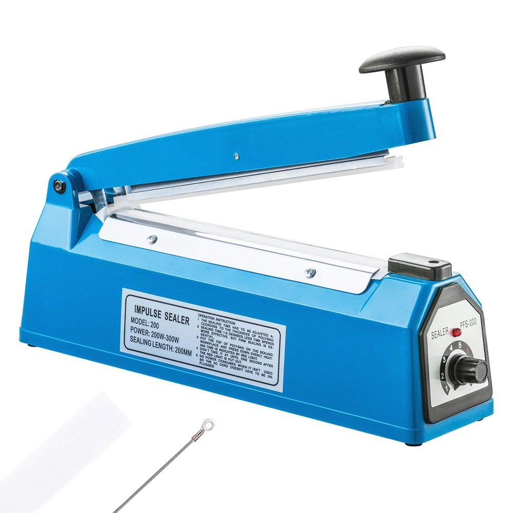 Impulse Sealer with Seal Ring Seal Ring Cutter PFS-150