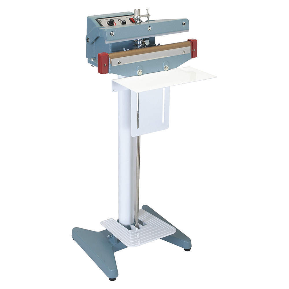 Foot Pedal Impulse Heat Sealer With Cutter Machine