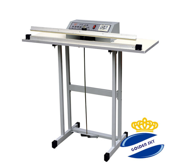 Foot Operated Single pedal impulse heat sealers FR-500