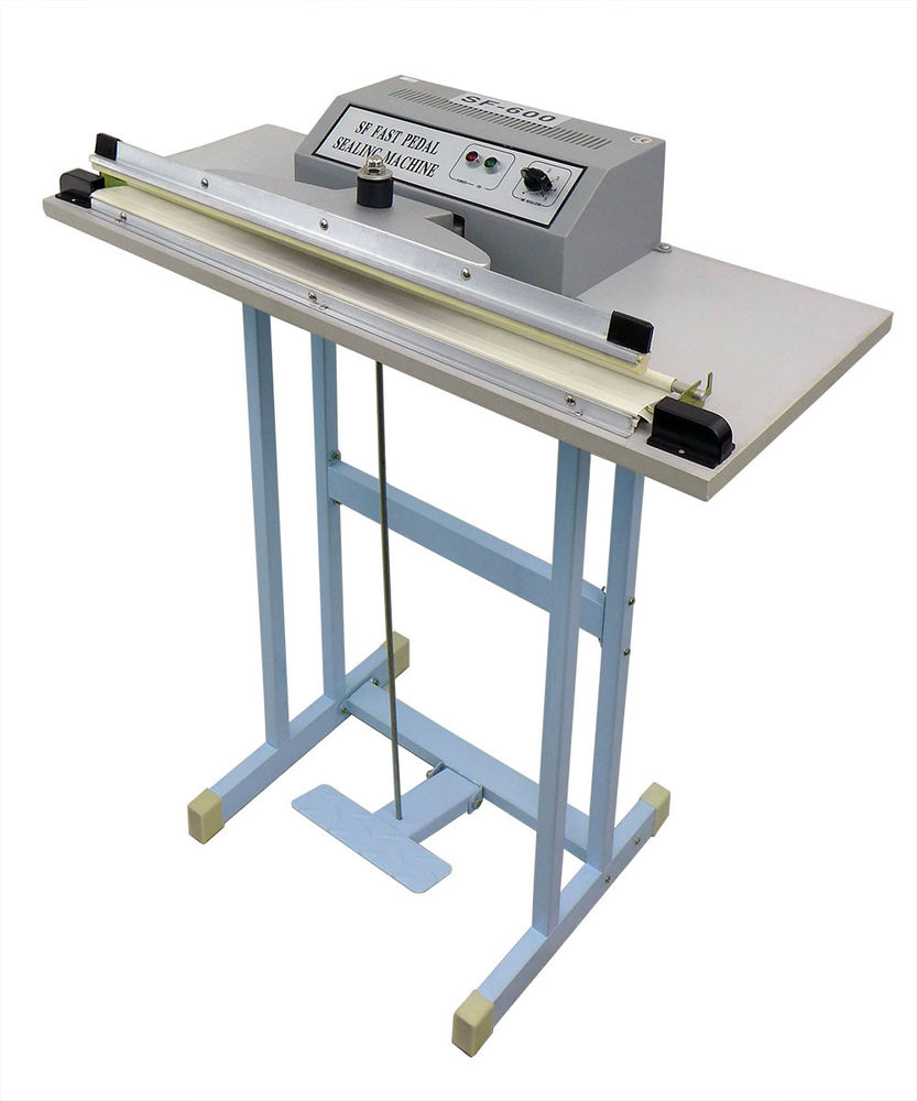 Single Pedal Impulse Sealer Machine For Make Bag