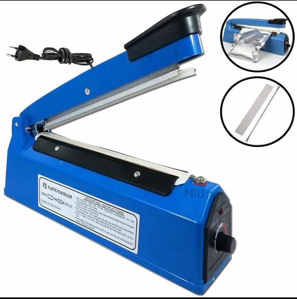 Impulse Sealing Plastic Film PP PE Sealer Coding PFS-400