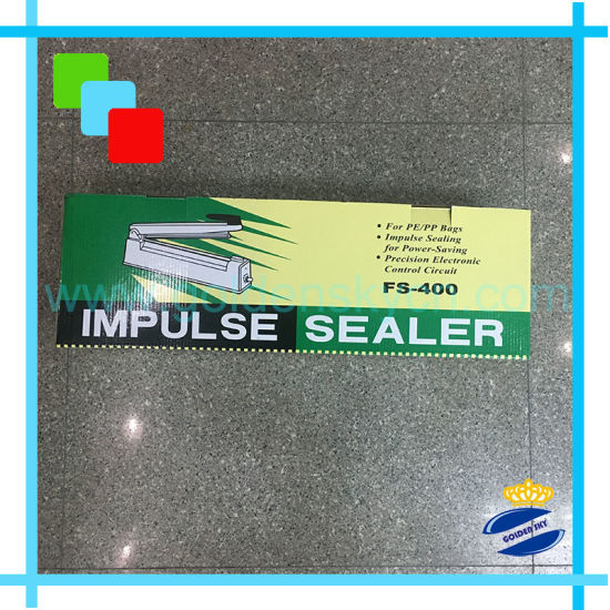 <strong>Impulse Poly-Propylene PP BOPP Bag Sealer Factory PFS-400</strong>