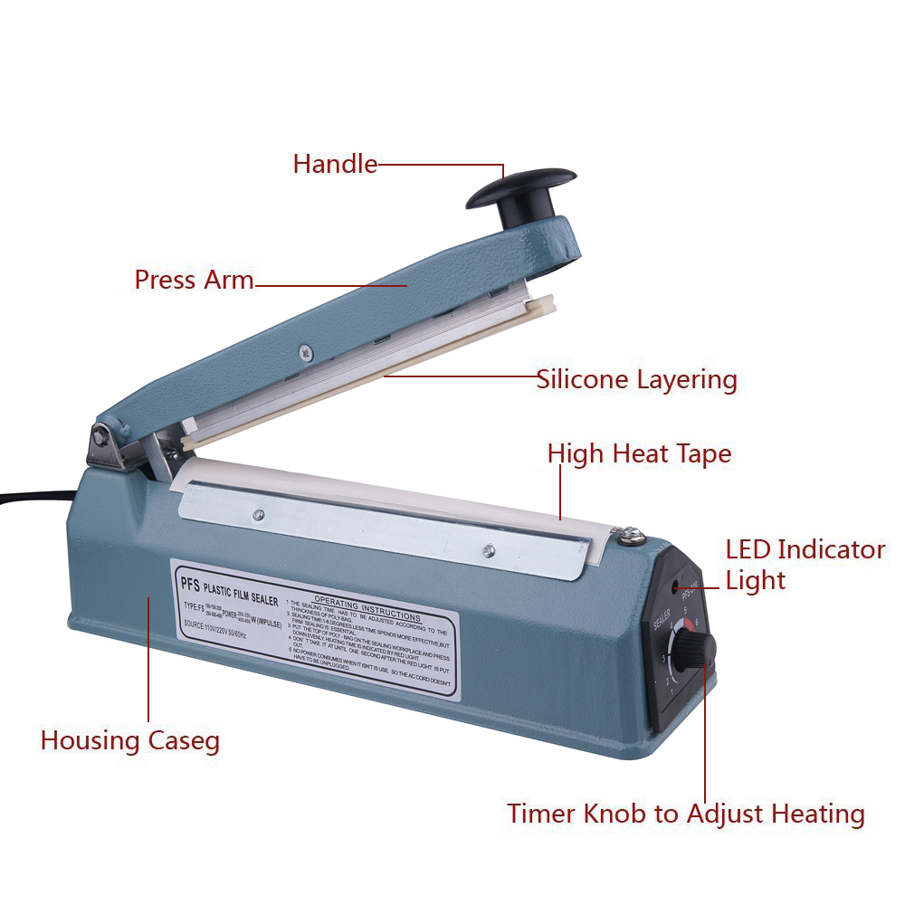 <strong>Handheld Impulse Sealers Plastic Bag Sealing Machine FS-300</strong>