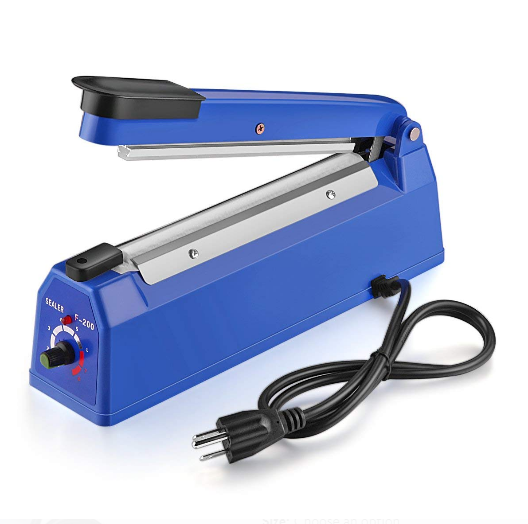 <strong>Hand Impulse Heat Sealer PP PE PVC Film Bag Machine PFS-200</strong>