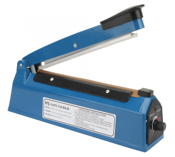 <strong>Impulse Sealer Heat Sealing Poly Tubing Bag Machine PFS-300</strong>
