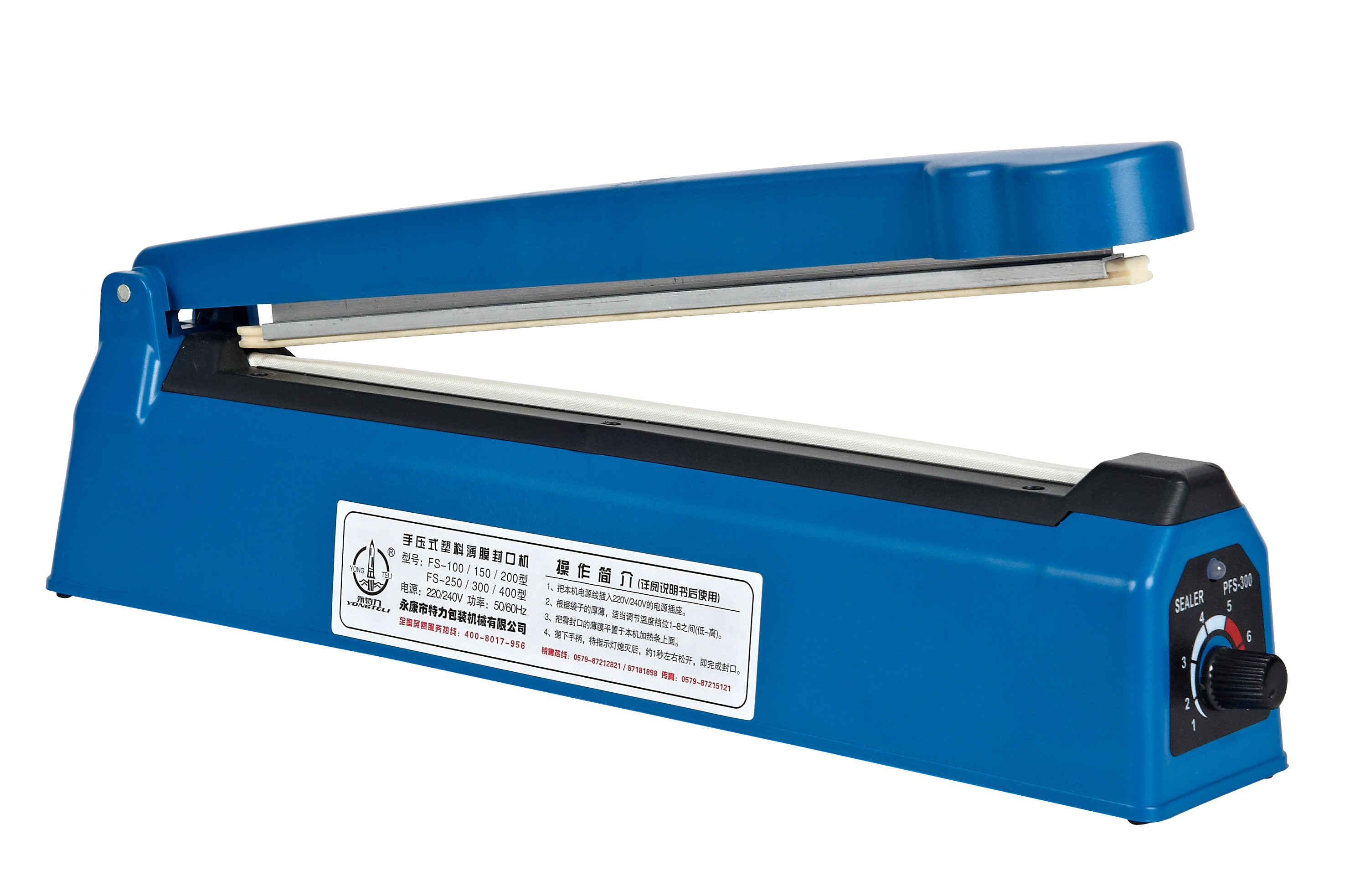 <strong>Impulse Poly Bag Sealer Poly-tubing Sealing Machine PFS-400</strong>