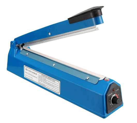 <strong>Hand Impulse Heat Sealer Poly Bag Sealing Machine PFS-200</strong>