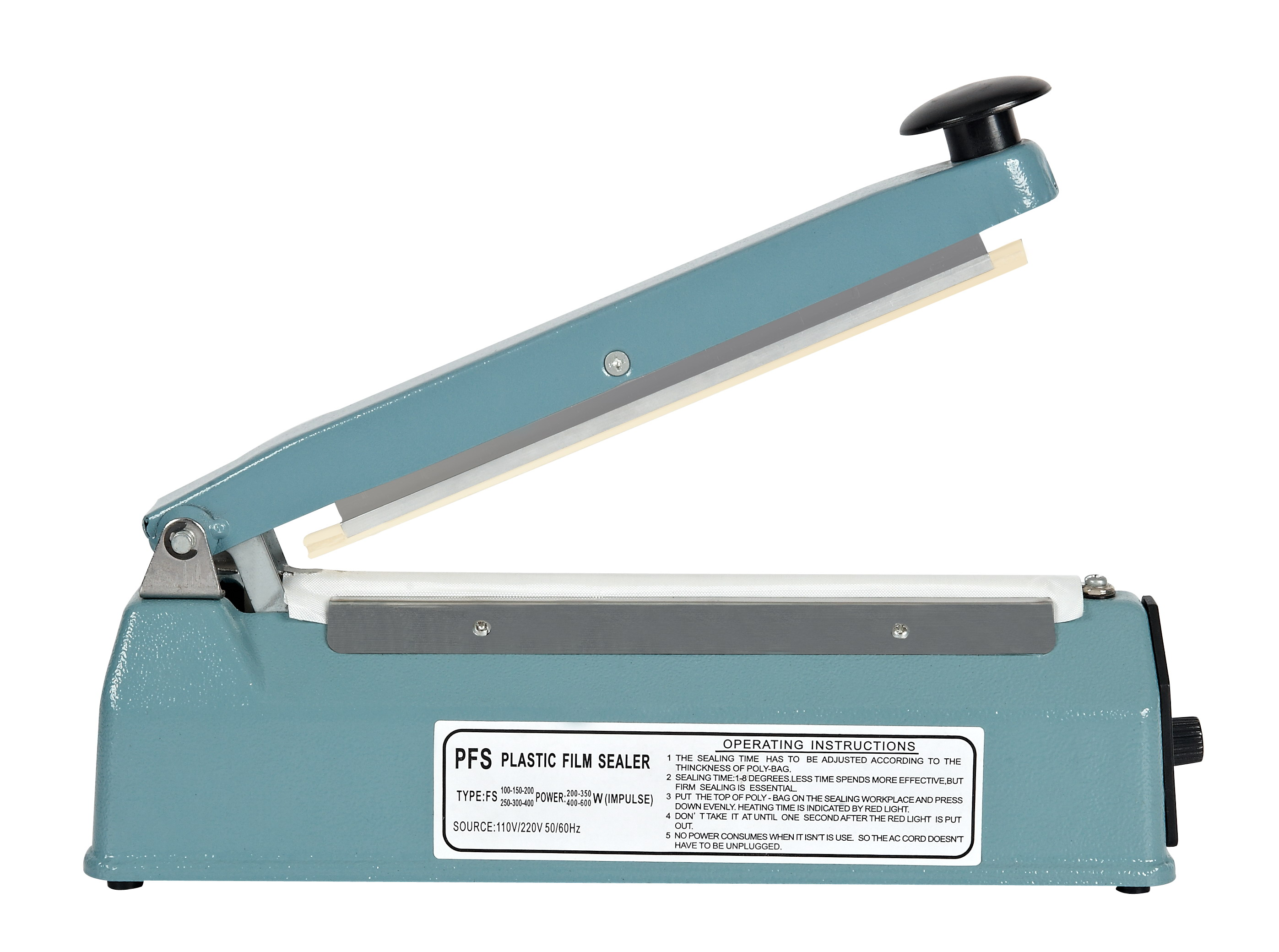 <strong>Aluminum Shell Impulse Heat Sealer Sealing Machine AFS-200</strong>